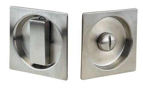 pocket door lock linnea modern square style pocket door lock