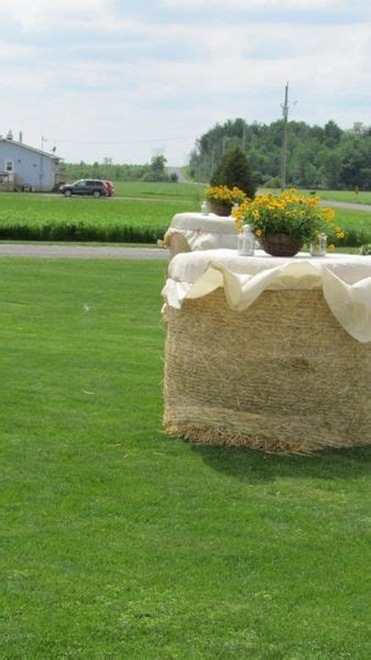 hay bales ideas  pinterest hay bale seating