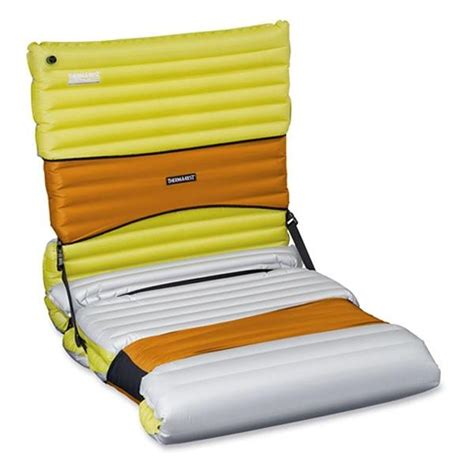 therm a rest mat compack chair kit pomegranate