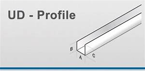 Profile Trockenbau Decke : ud profile jaha profile hersteller von profilen f r den innenausbau und trockenbau ud ~ Orissabook.com Haus und Dekorationen