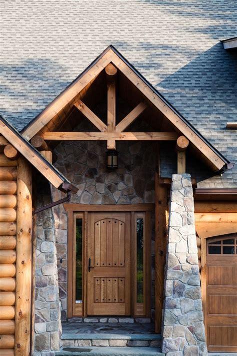 custom  rustic country entry door  gerspach