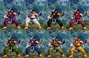 How To Unlock Costume Colors Street Fighter V