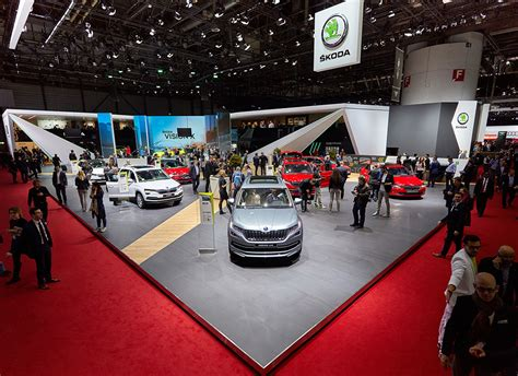 Update Motor Show 2018 : Škoda At The 2018 Geneva Motor Show