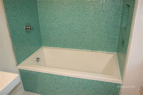 Tiling A Bathtub Lip by Articles With Tile Around Tub Surround Ideas Tag Wondrous