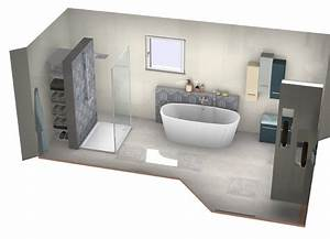 Plan 3d Salle De Bain : plan 3d salle de bain gratuit stunning plan with plan 3d ~ Melissatoandfro.com Idées de Décoration