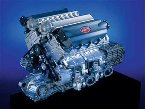 Motor Engine Bugatti Veyron W16