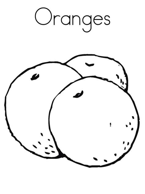 Coloring Oranges by Orange Coloring Pages And Print Orange Coloring