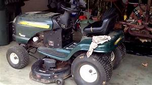 Craftsman Riding Mower Deck Belt Change