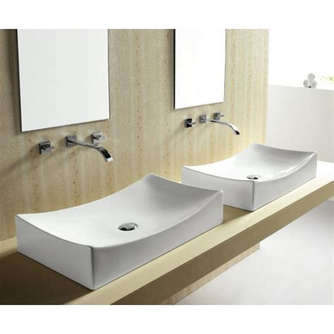 Tub And Shower Faucets by European Style Porcelain Ceramic Countertop Bathroom