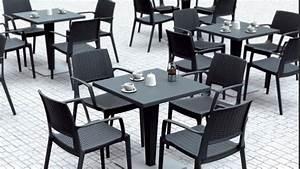 Chaise Terrasse Restaurant : mobilier de terrasse professionnel occasion table de lit ~ Teatrodelosmanantiales.com Idées de Décoration