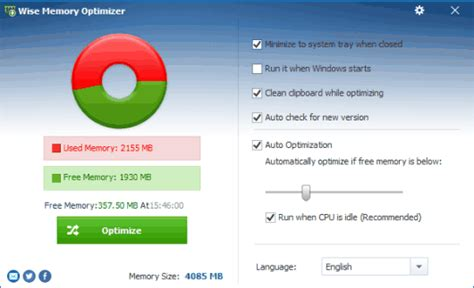 best free optimizer 5 best free memory optimizer software for windows 10