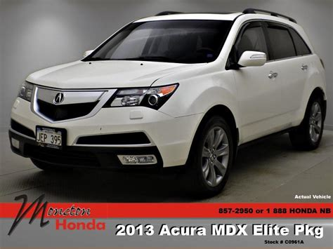 Acura Mdx 2013 For Sale by Used Acura Mdx 2013 For Sale In Moncton New Brunswick
