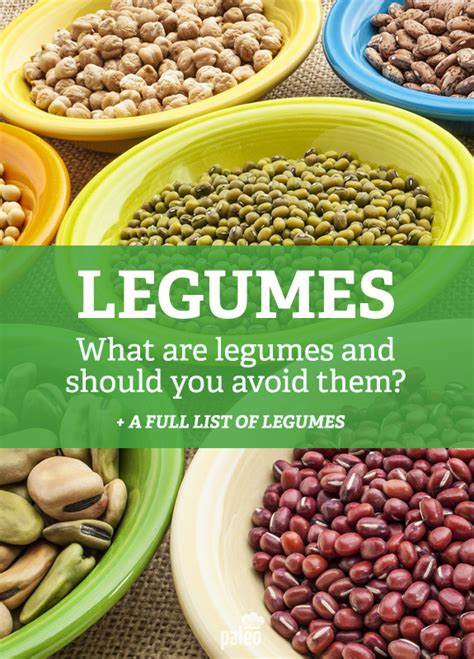 cuisine legumes what are legumes should you avoid them paleo grubs