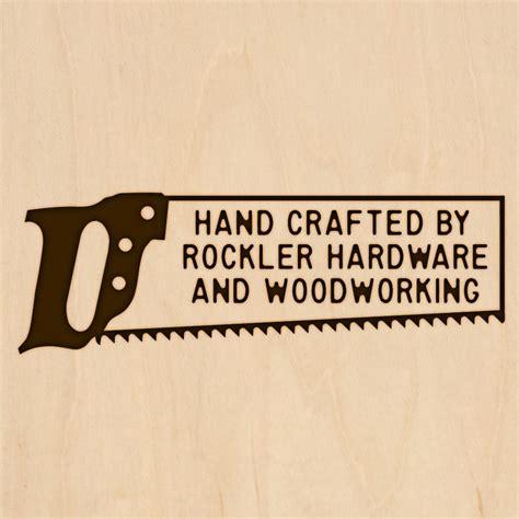 custom branding iron  handsaw design large head