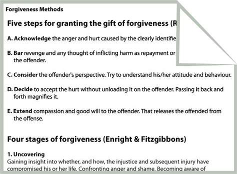All Worksheets » Forgiveness Worksheets  Printable Worksheets Guide For Children And Parents