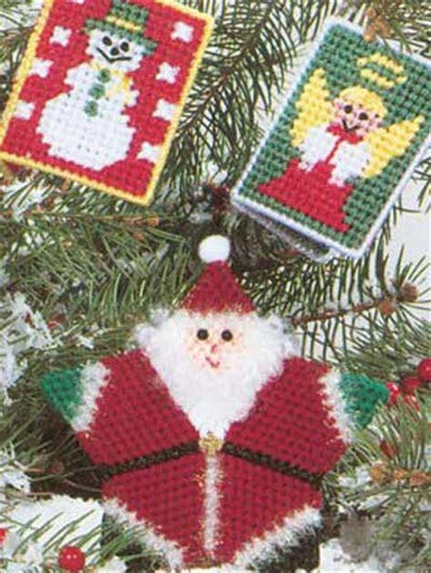 santa and friends ornaments