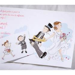 faire part mariage orchidã e faire part mariage humoristique mariés enfants faire part select duo 49566 mesfairepart