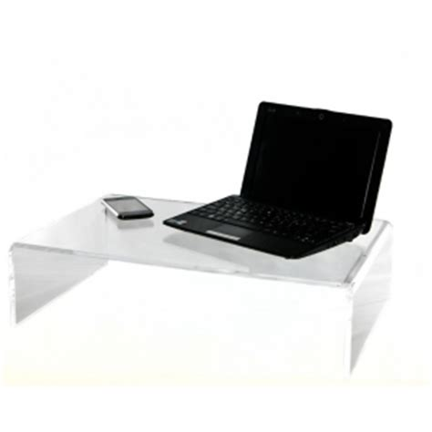 clear acrylic lap desk counter clear acrylic monitor riser stand desk top