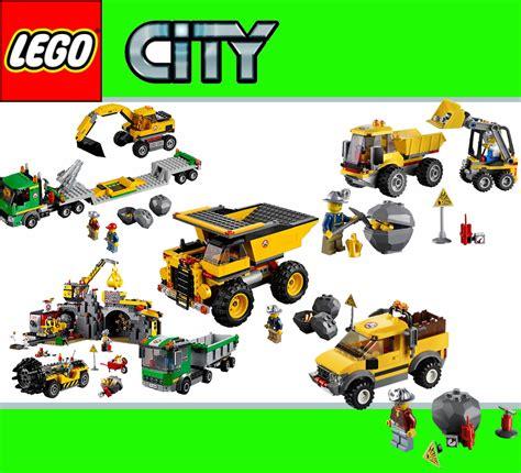 lego city bergwerk      baustelle