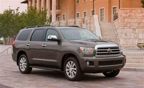 2013 Toyota Sequoia Gets Blu-ray, Standard V8 » Autoguide