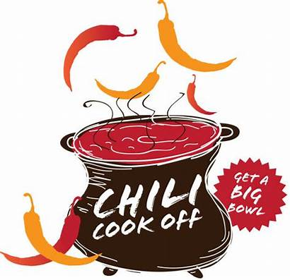 Chili Pot Cookoff Icon Cooking Vector Competition