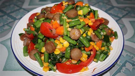 Resep tumis sayuran sederhana ini mulai dari tumis kangkung, hingga bunga pepaya. 8 Resep Sosis Praktis dengan Bahan Sederhana untuk Anak Kost