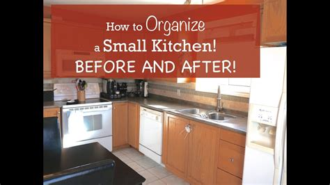 organize  small kitchen    youtube