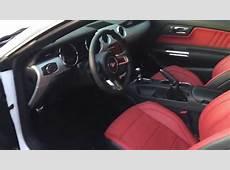 2015 Mustang GT Premium Vehicle Interior YouTube