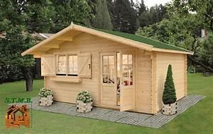 Cabane De Jardin D Occasion : cabane en bois habitable stmb construction chalets ~ Teatrodelosmanantiales.com Idées de Décoration