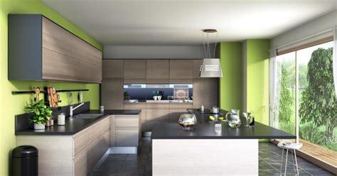 cuisine contemporaine design la cuisine américaine équipée caractéristiques aménagements design bar