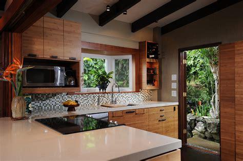zen kitchen island style tropical kitchen hawaii