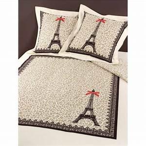 Housse De Couette Paris Chri Lopard 140x200 1 Taie