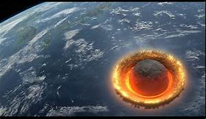Asteroid hitting the Earth d by Crypdan on DeviantArt