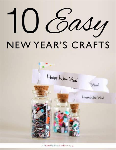 easy  years crafts allfreeholidaycraftscom