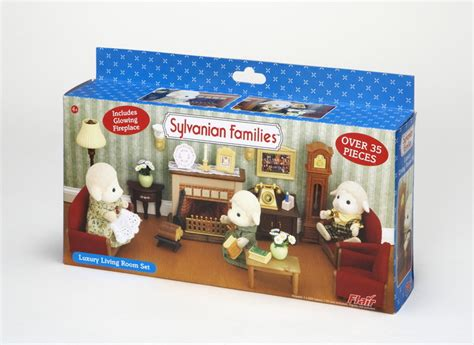 Sylvanian Families Kitchen And Living Room Collection : Sylvanian Families Luxury Living Room Set; Smileydot.us