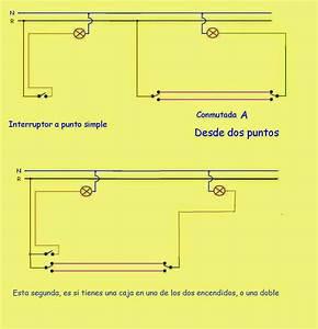 Esquema Electrico 3 Interruptores Conmutados
