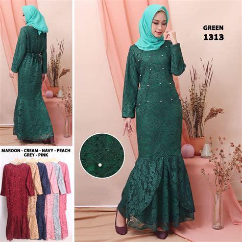 Baju Dress Wanita Ayumi Terbaru dress m fit l salmalong navy inner belt brokat furing