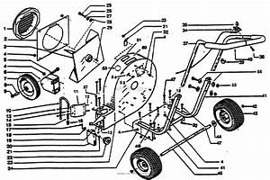 Bunton  Bobcat  Ryan 9009vg Parts Diagram For Main Assembly