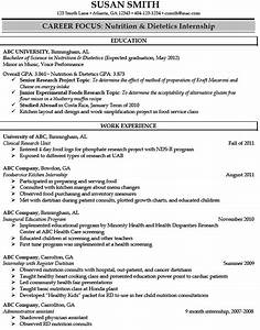 registered dietitian resume sample http With dietitian resume