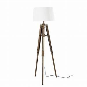 Lampadaire Maison Du Monde : lampadaire tr pied h 158 cm matelot maisons du monde ~ Premium-room.com Idées de Décoration