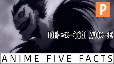 anime five facts death note youtube