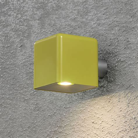 Konstsmide 7681 100EE Amalfi LED Yellow Outdoor Wall Light