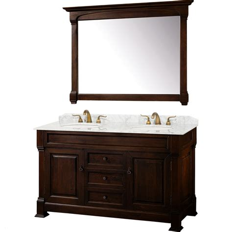 kitchen sinks with faucets wyndham collection andover 60 inch traditional sink