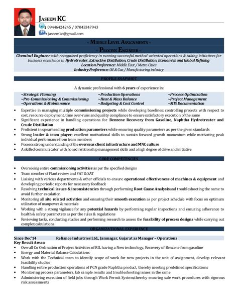 Visual Resume Sles by Resume Jaseem