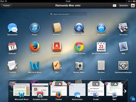 Programm Mac by Parallels Access Holt Mac Programme Auf Das Mac I