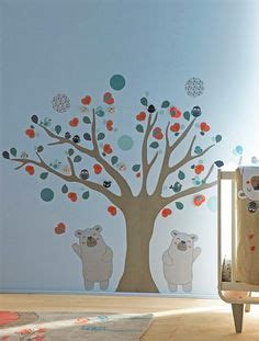 sticker arbre chambre b 1000 images about chambre bebe on stickers