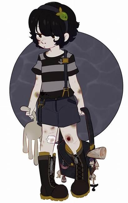 Nightmares Six Fanart Fan Anime Character Seven