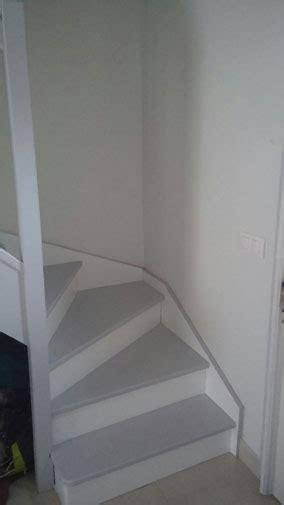 escaliers p ge blanche n 11 smile revger com photo escalier peint en gris idée