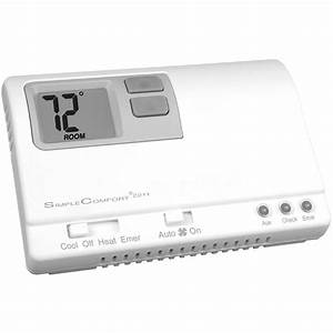 White Rodgers Thermostat Manual Emer