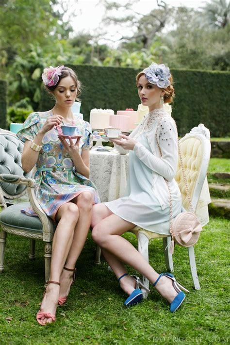Tea for Twou2026 Ruche Spring 2013   Found Vintage Rentals